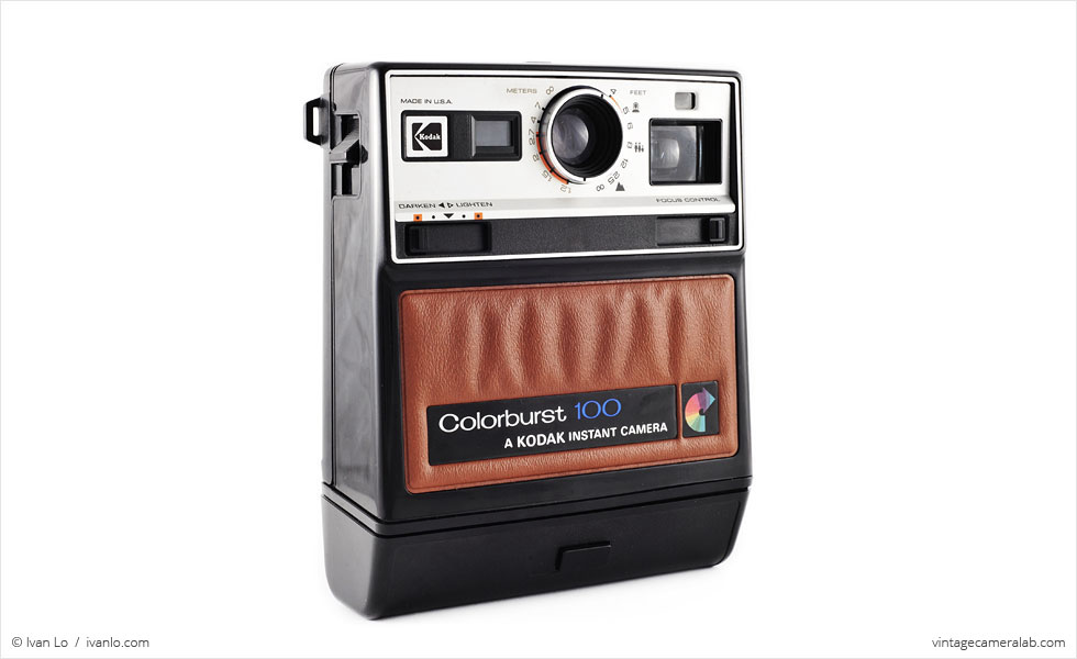 Kodak Colorburst 100 (three-quarter view)