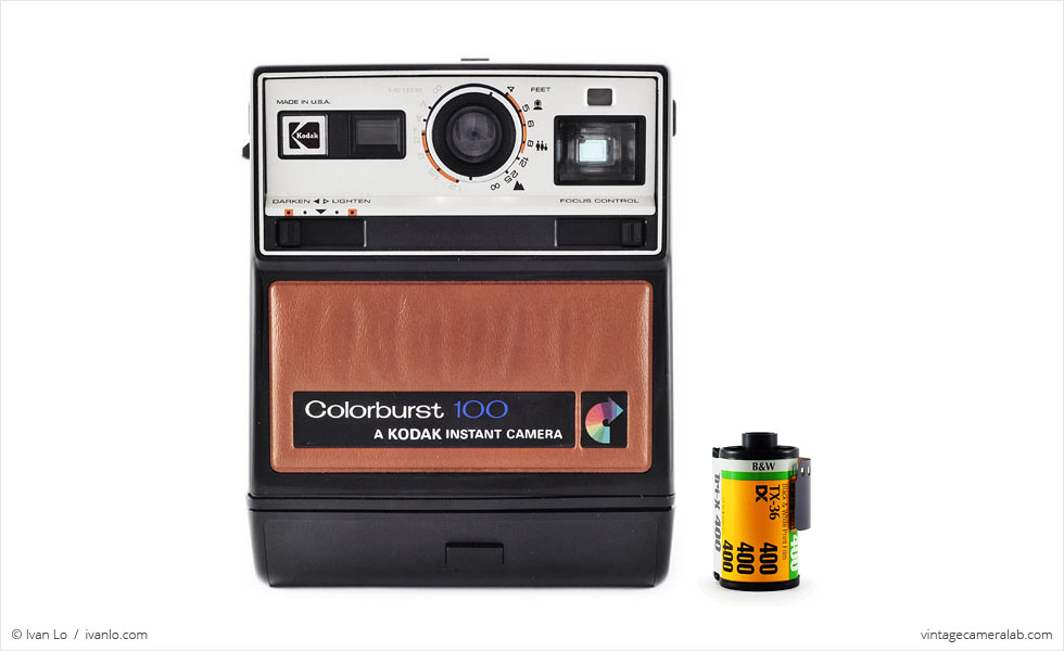 Kodak Colorburst 100 (with 35mm cassette for scale)