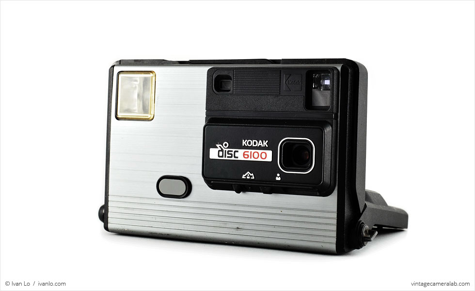 Kodak Disc 6100 (three quarters, open)