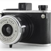 Kodak Duex (three-quarter view, lens open)