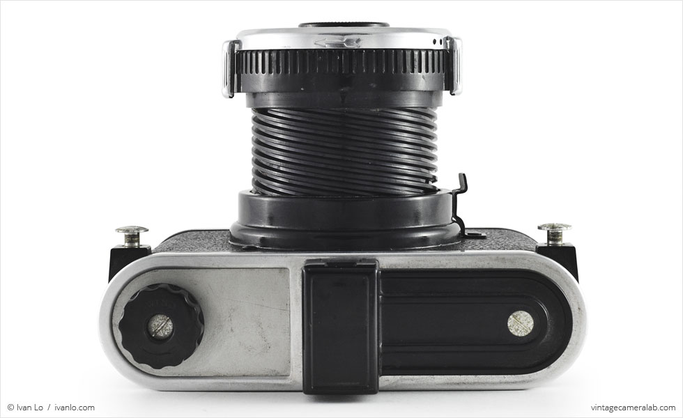 Kodak Duex (top view, lens open)