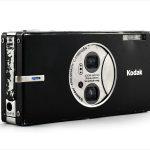 Kodak EasyShare V570 (three quarters, open)