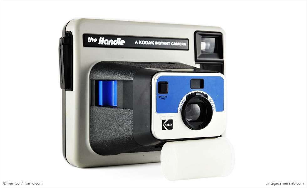 Kodak Handle (three-quarter view)