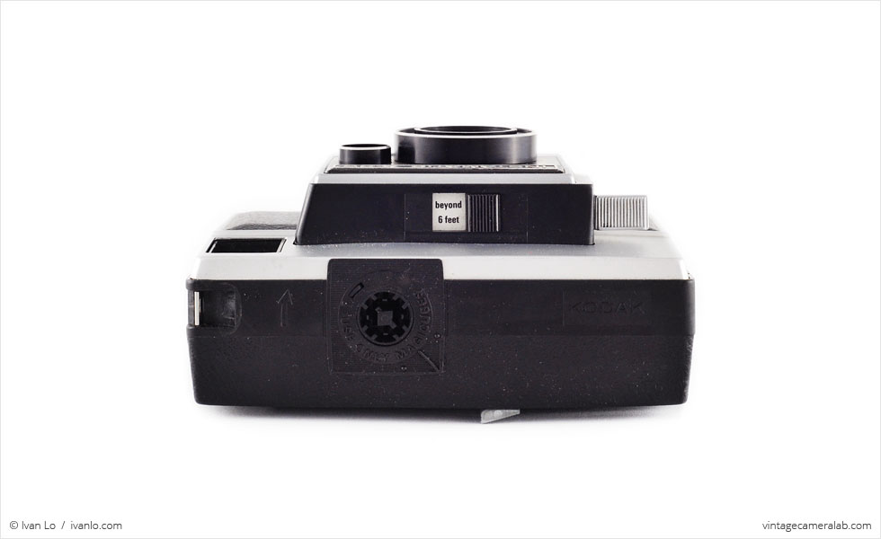 Kodak Instamatic X-35 (top view)