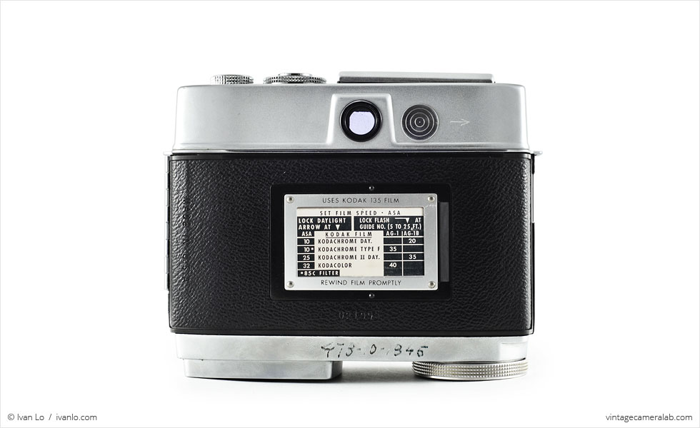 Kodak Motormatic 35F (rear view)