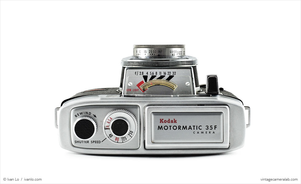 Kodak Motormatic 35F (top view)