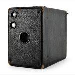 Kodak No. 2A Brownie Model B (three quarters)
