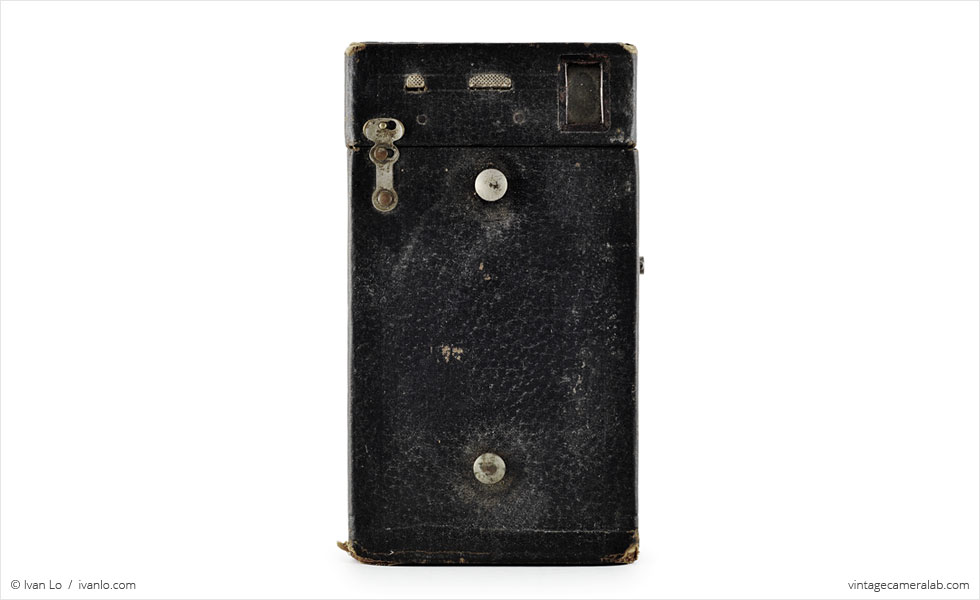 Kodak No. 2A Brownie Model B (top view)