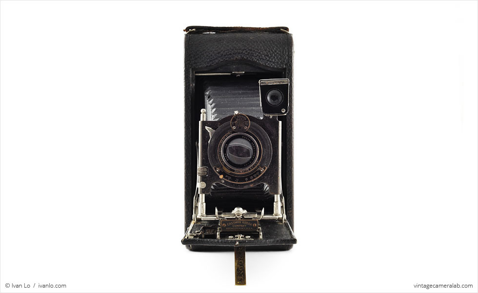 Kodak No.3A Autographic (front view, open)
