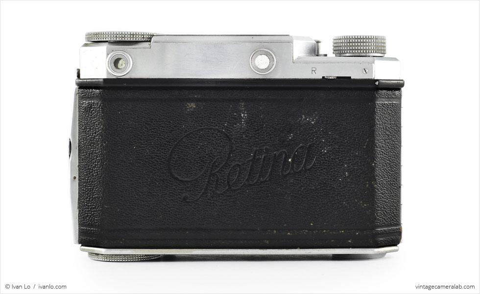 Kodak Retina II (rear view}
