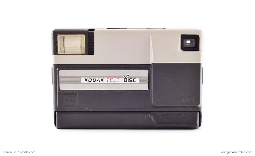 Kodak Tele Disc (front view, closed)