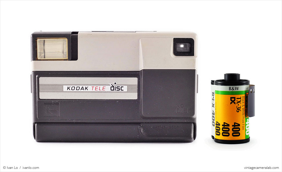 Kodak Tele Disc (with 35mm cassette for scale)