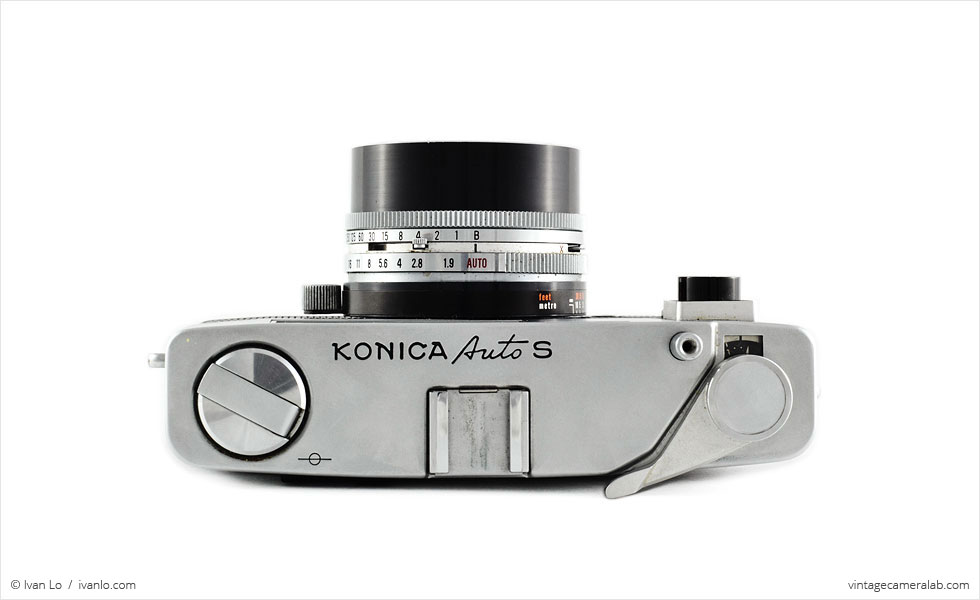 Konica Auto S (top view)