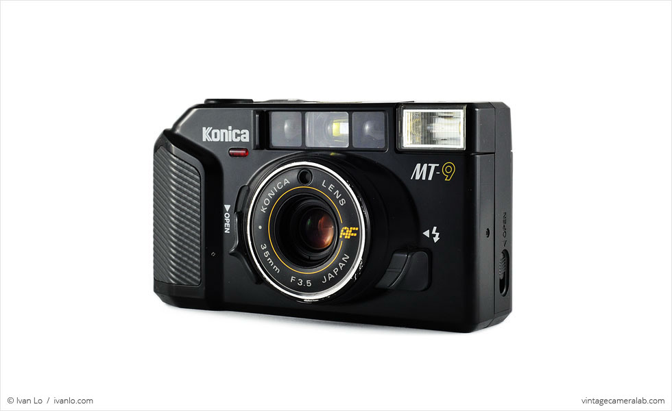 Konica MT-9 (three-quarter view)