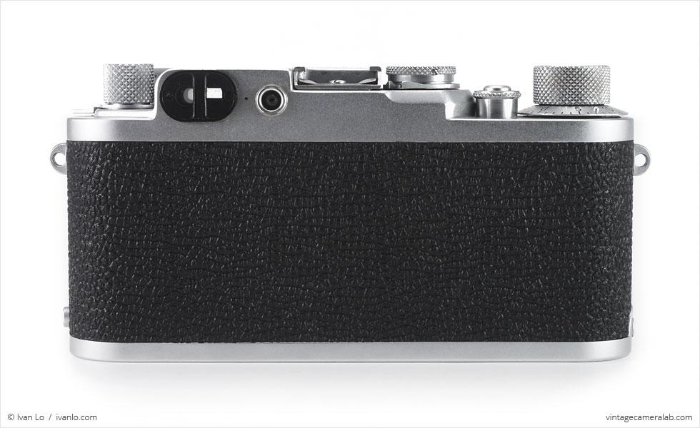 Leica IIf (rear view)