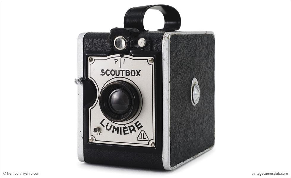 Lumière Scoutbox (three-quarter view)