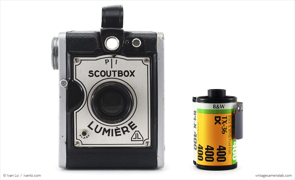 Lumière Scoutbox (with 35mm cassette for scale)