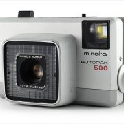Minolta Autopak 500 (three-quarter view)