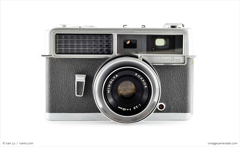 Minolta Hi-Matic (front view)