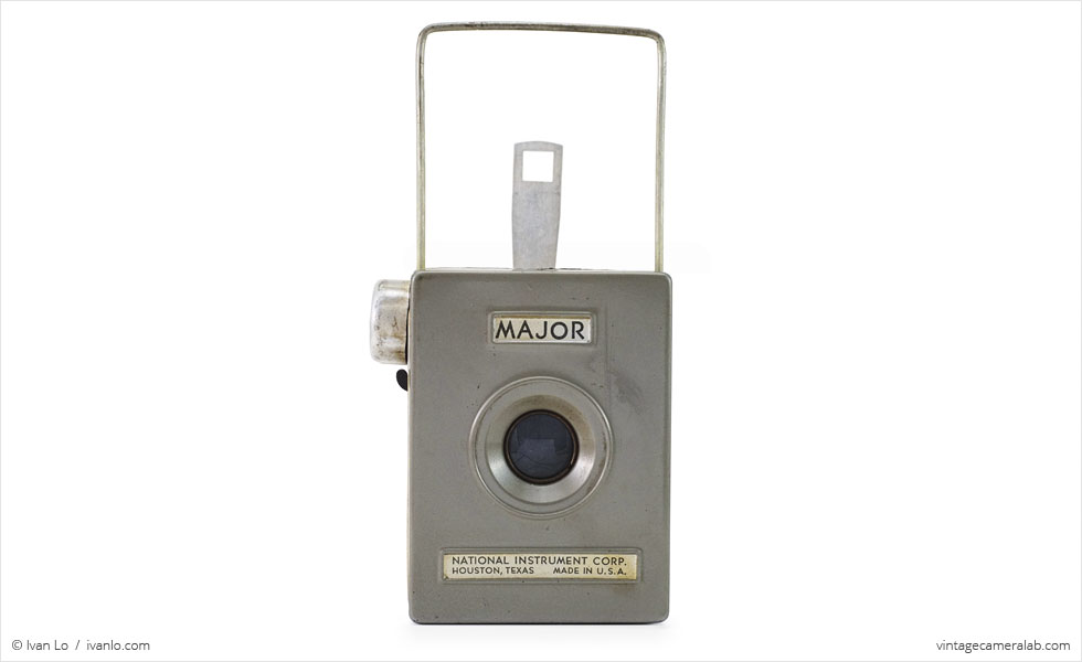 National Instrument Corp. Major (front view, viewfinder up)