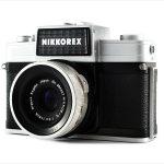 Nikon Nikkorex 35 II (three quarters)