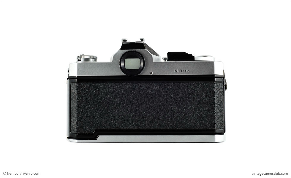 Nikon Nikkormat FT3 (rear view)