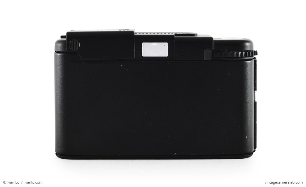 Olympus XA (rear view, open)