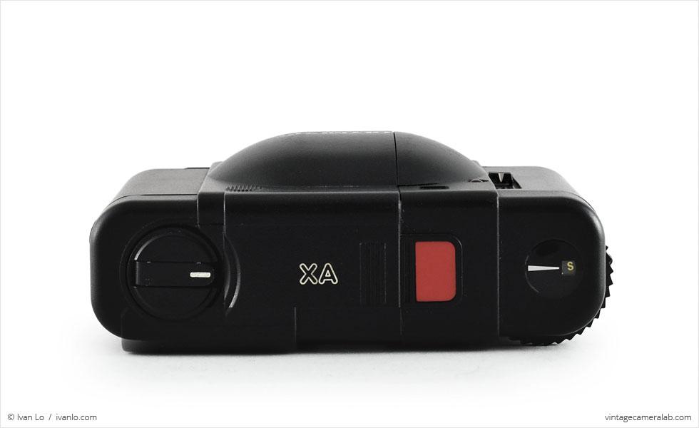 Olympus XA (top view)