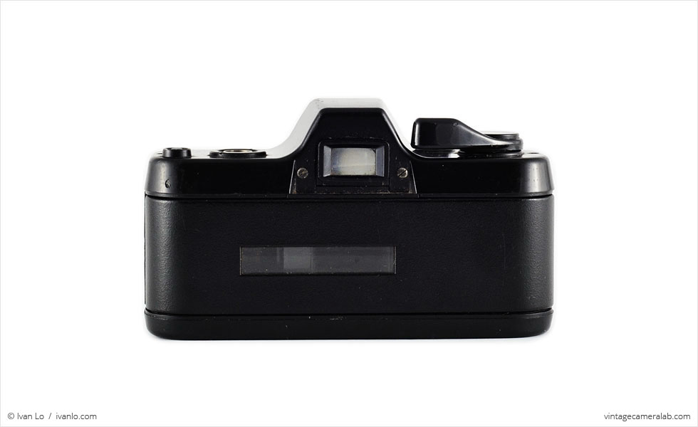Pentax Auto 110 (rear view)