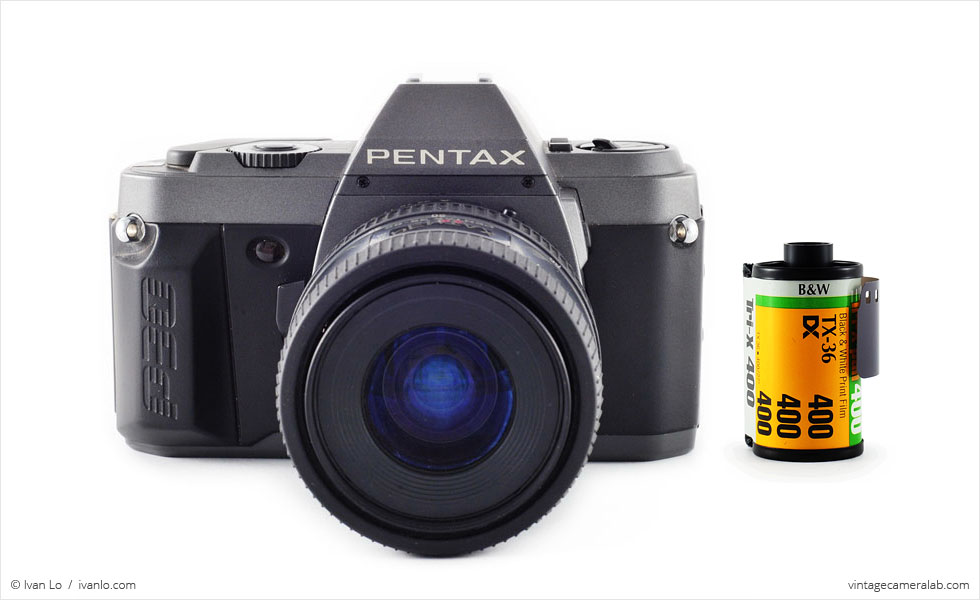 Pentax P30T (with 35mm cassette for scale)