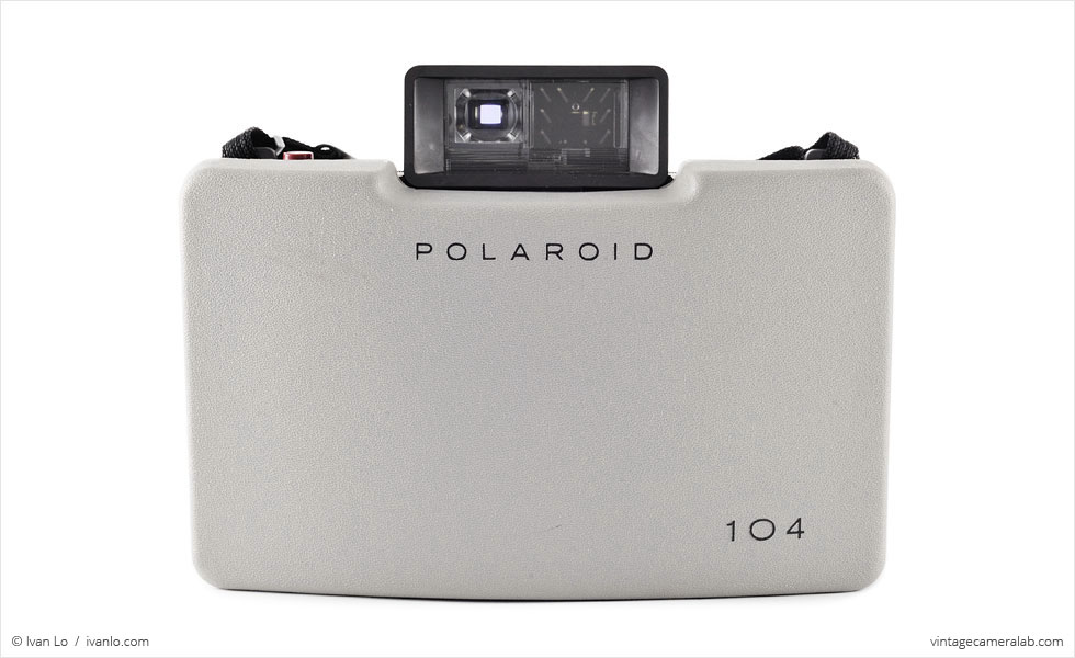 Polaroid Land Model 104 (front view, closed)