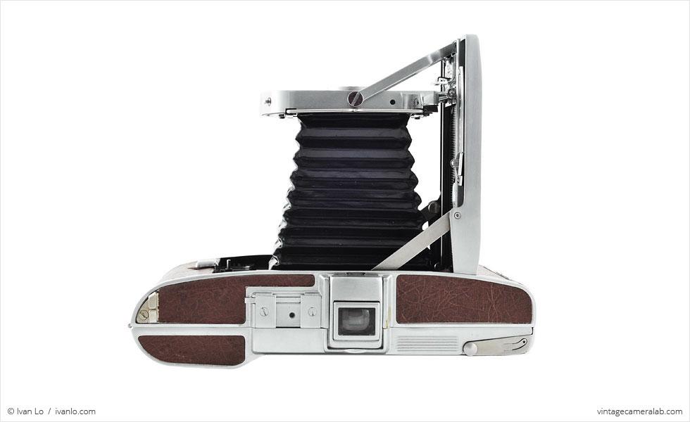 Polaroid Land Model 95A (top view, open)