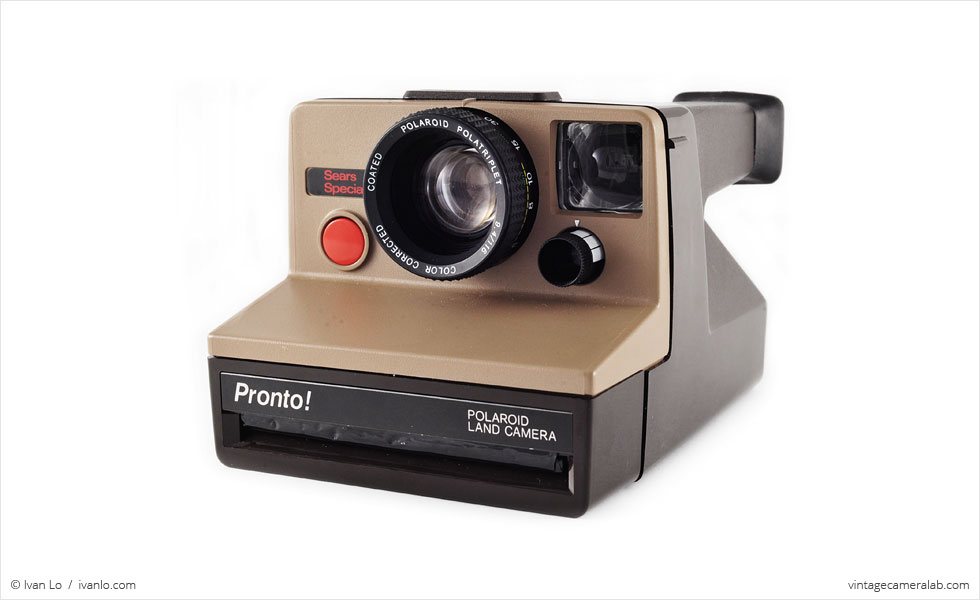 Polaroid Pronto! Sears Special (three-quarter view)