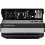 Polaroid Spectra (front view, open)