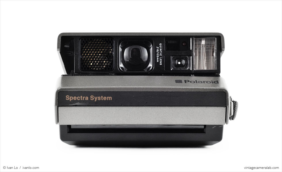 Polaroid Spectra (front view, open)