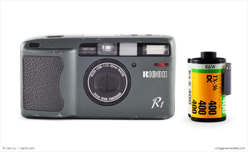 Ricoh R1 (with 35mm cassette for scale)