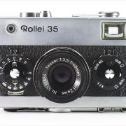 Rollei 35 (front view, open)