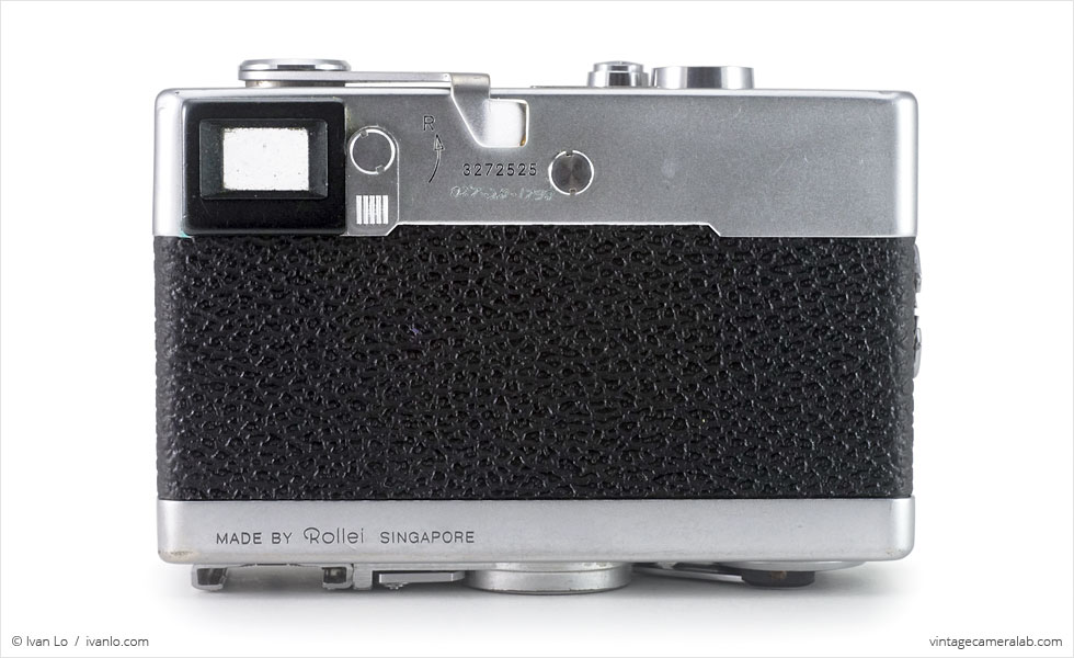 Rollei 35 (rear view)