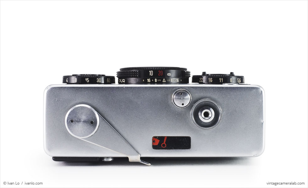 Rollei 35 (top view)