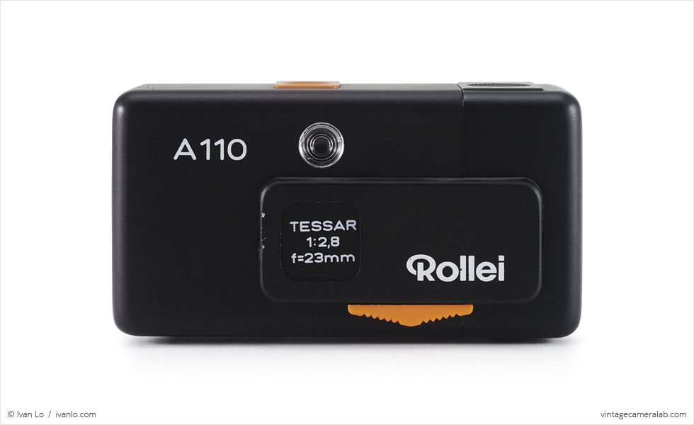 Rollei A110 (front view)