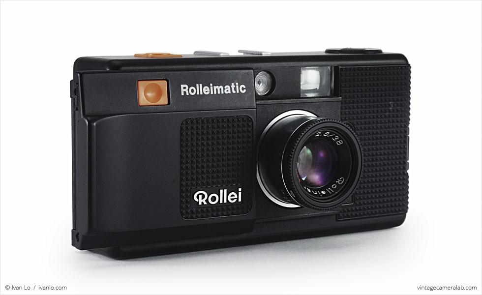 Rollei Rolleimatic (three-quarter view, open)