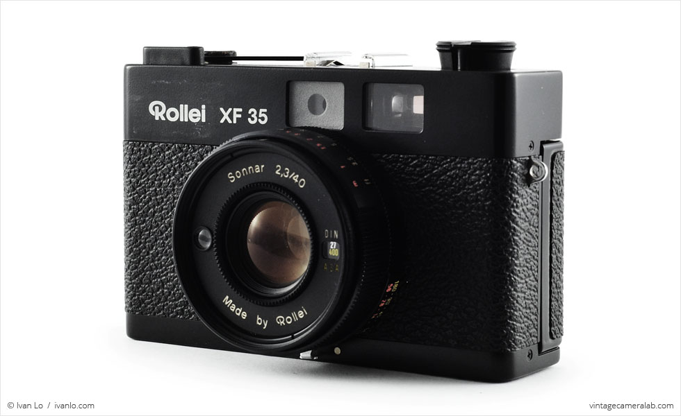 Rollei XF 35 (three-quarter view)