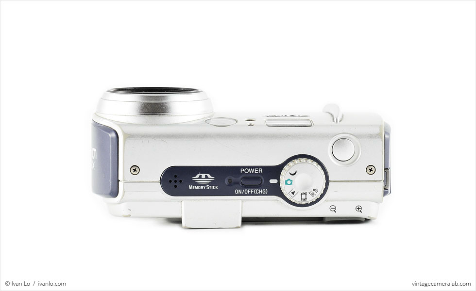 Sony DSC-P50 (top view)