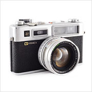Read about the Yashica Electro 35 GS camera on Vintage Camera Lab