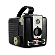 Read about the Kodak Brownie Hawkeye camera on Vintage Camera Lab