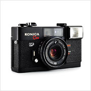 Read about the Konica C35 EF camera on Vintage Camera Lab