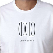 Buy a Leica Elmar Lens Diagram T-shirt on Vintage Camera Lab