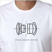 Buy a Voigtländer Skopar Lens Diagram T-Shirt on Vintage Camera Lab