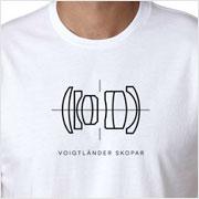 Buy a Voigtländer Skopar Lens Diagram T-shirt on Vintage Camera Lab