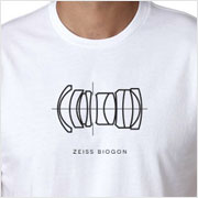 Buy a Zeiss Biogon Lens Diagram T-Shirt on Vintage Camera Lab